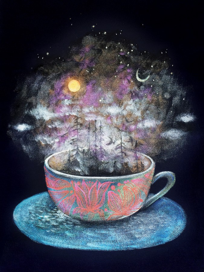Poster  TEA AND THE UNIVERSE