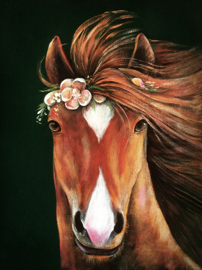 Poster THE EVENING HORSE