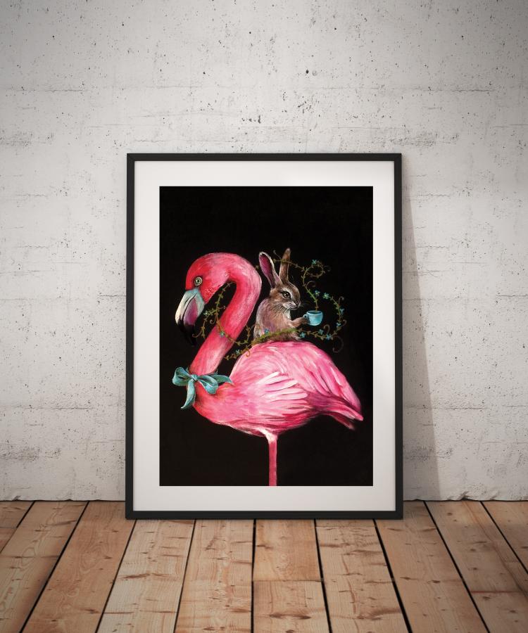 Plakatas Flamingas