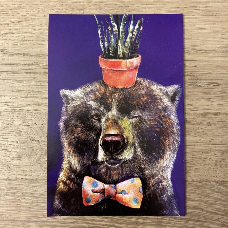 Postcard BEAR