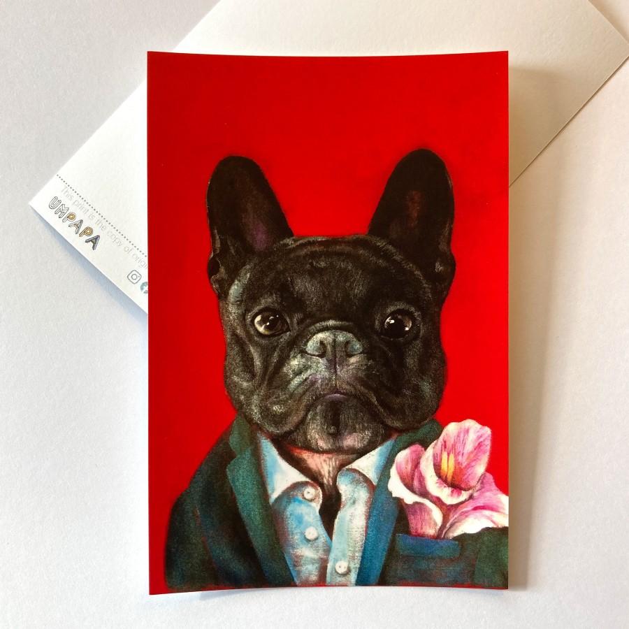 Postcard FRENCH BULLDOG