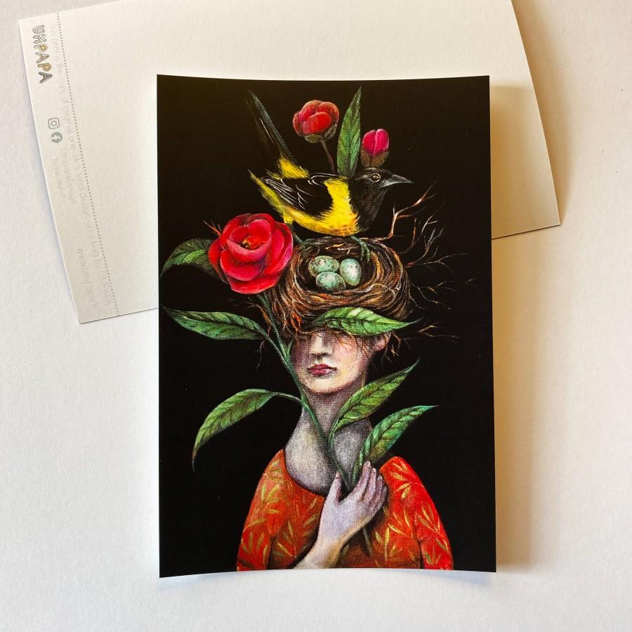 Postcard ORIOLE