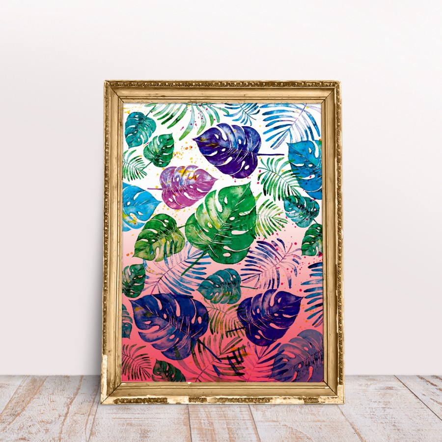 Poster PINK TROPICA